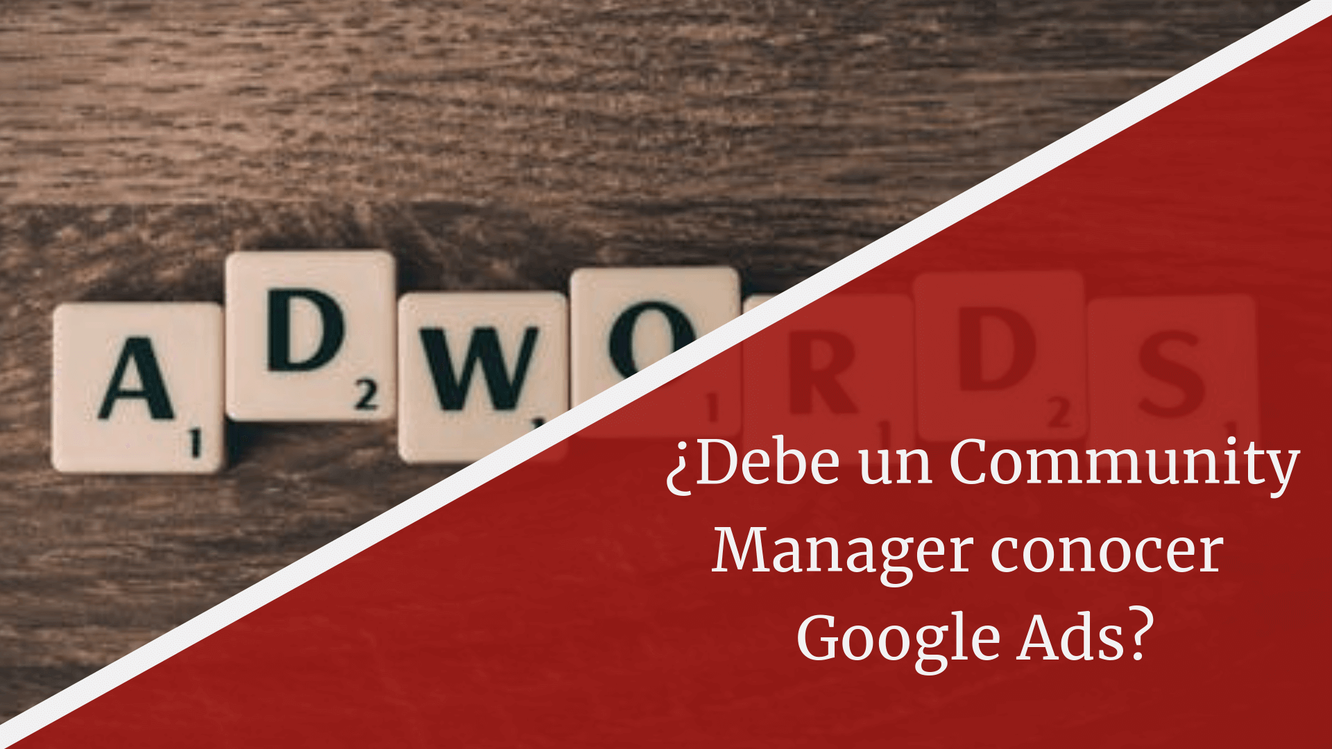 google ads comunity manager y sem